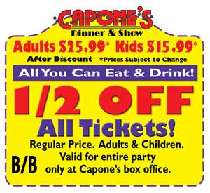 Capones Coupon